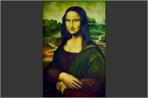 Repro. of the Monalisa