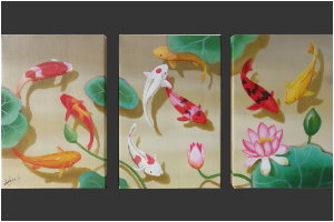 9 Koi Fishes #2